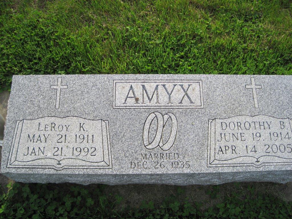 Dorothy B. <i>Bonham</i> Amyx