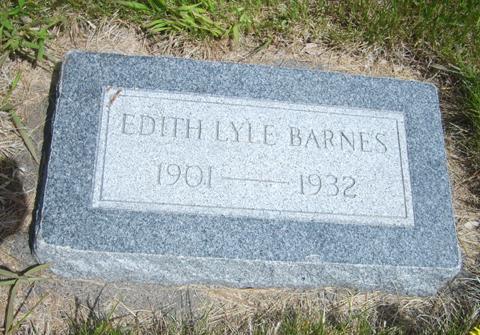 Edith Lyle Barnes