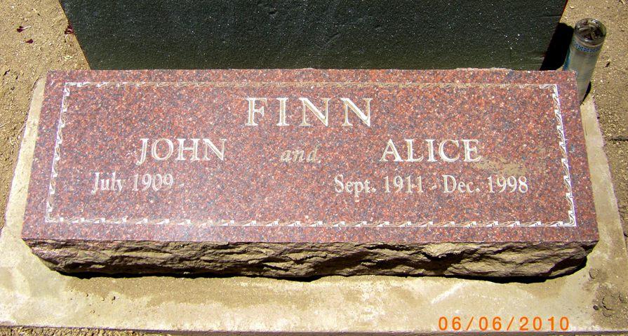 Lieut John William Finn