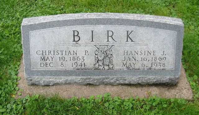 Hansine Johanne <i>Pedersen</i> Birk