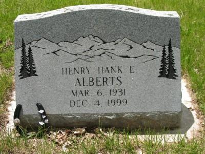 Henry Eugene Hank Alberts