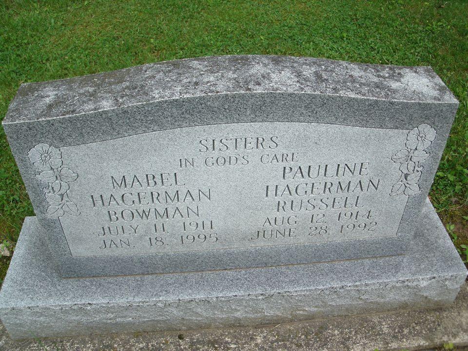 Mabel Lucille <i>Hagerman</i> Bowman