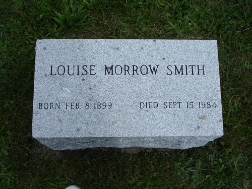 Louise <i>Morrow</i> Smith
