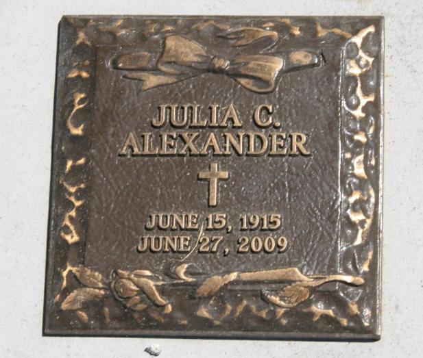 Julia <i>Pacheco</i> Alexander