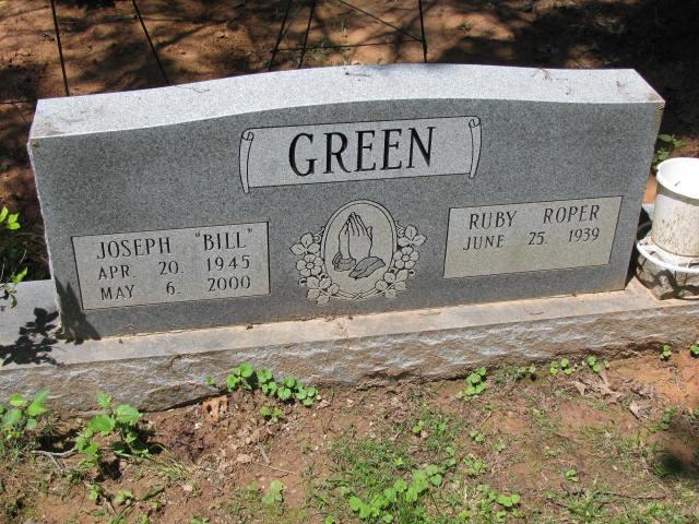 Ruby <i>Roper</i> Green