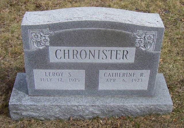 Catherine R <i>Shue</i> Chronister