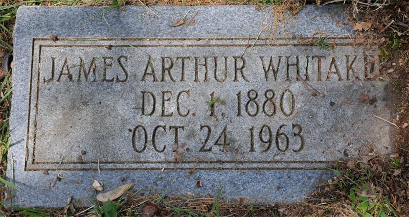 James Arthur Whitaker