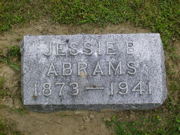 Jessie B. <i>Mosier</i> Abrams
