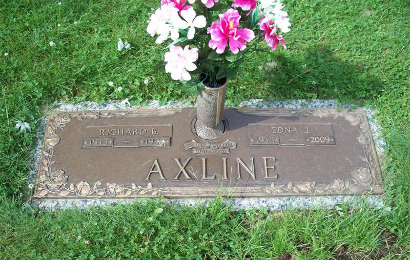 Edna Jane <i>Klinehoffer</i> Axline