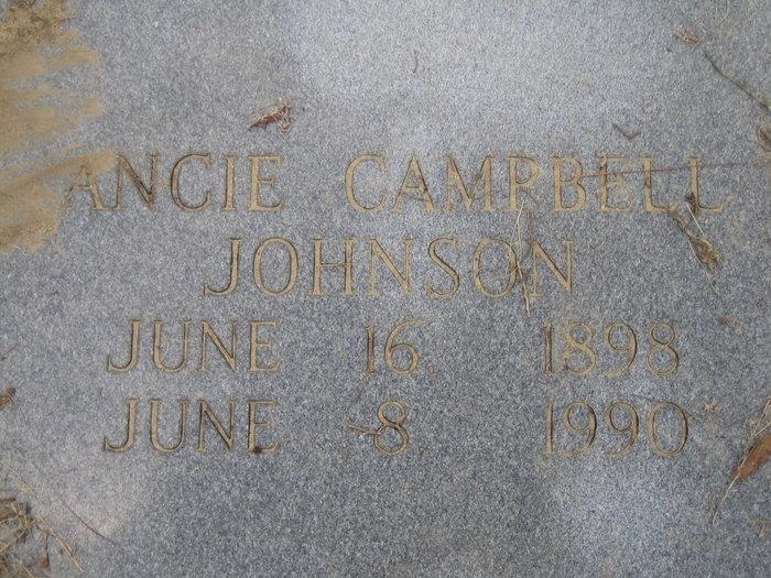 Ancie <i>Campbell</i> Johnson
