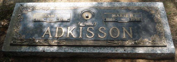 Marie <i>Holland</i> Adkisson
