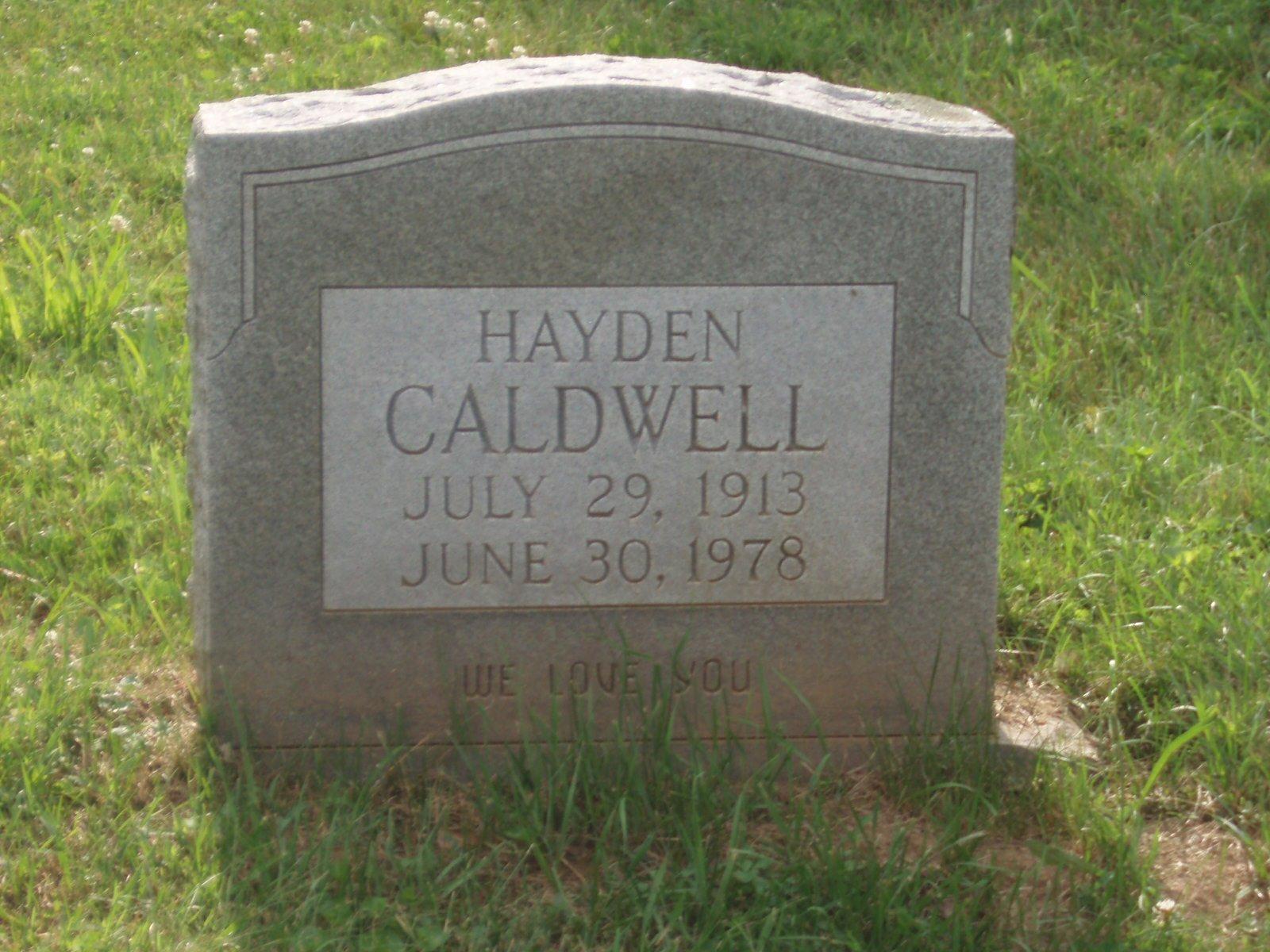 Hayden Caldwell