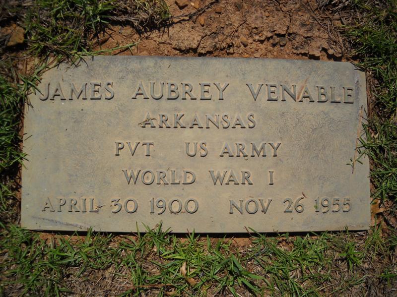 James Aubrey Venable