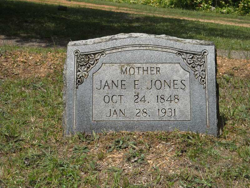 Jane Elizabeth <i>Clark</i> Jones