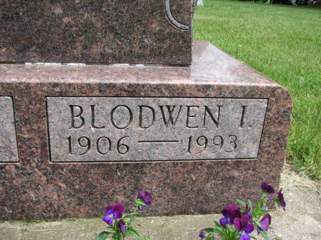 Blodwen A <i>Achterberg</i> Dolgner