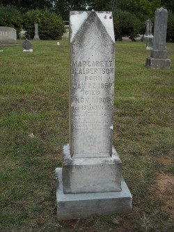 Margaret Matilda <i>Payne</i> Albertson