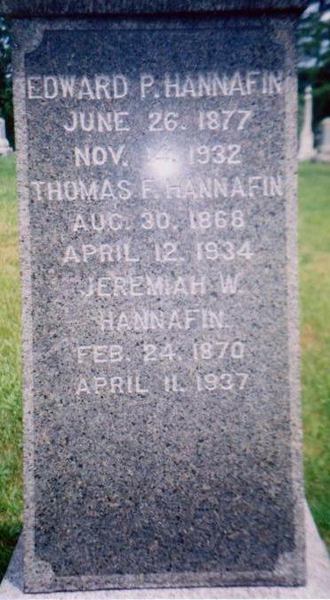 Jeremiah W Hannafin