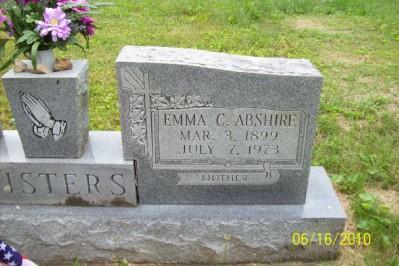 Emma Margaret <i>Fisher</i> Abshire