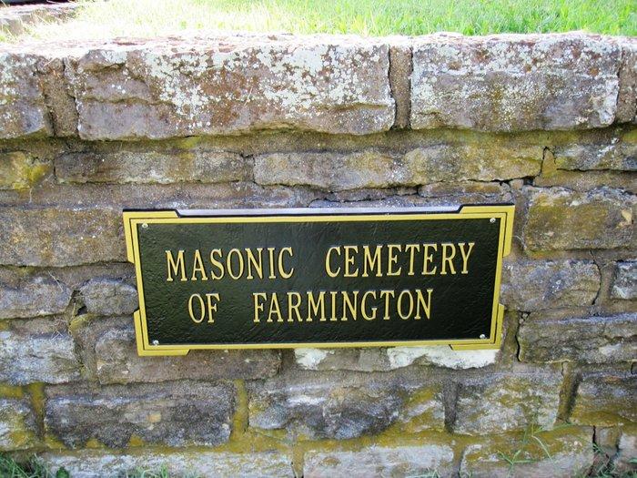 Masonic Cemetery of Farmington (South)