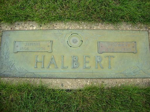 Jennie <i>Elzenaar</i> Halbert