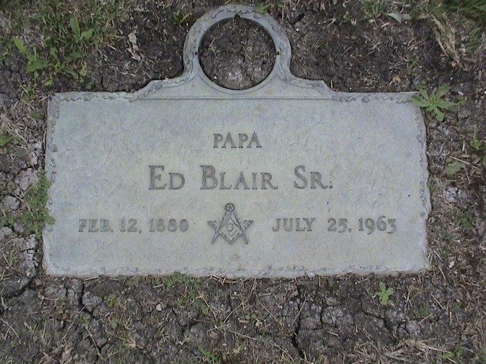 Ed Blair, Sr