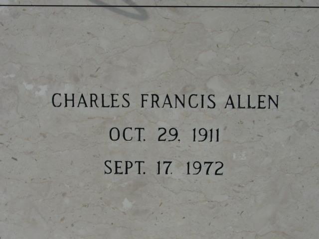 Charles Francis Tim Allen