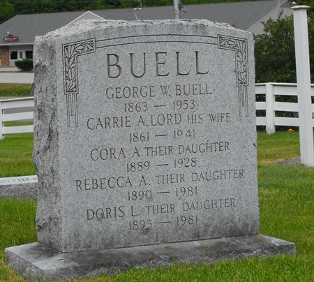 Carrie A <i>Lord</i> Buell