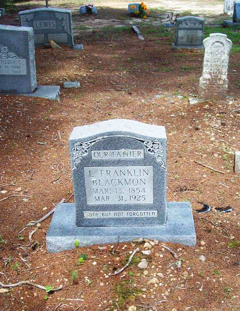 Levi Franklin Blackmon