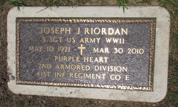 Joseph J. Riordan