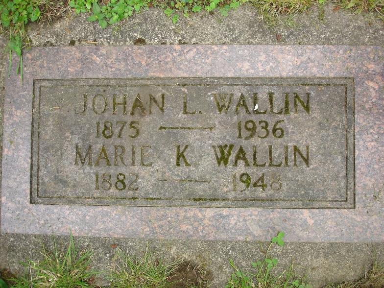 Marie <i>Kenton</i> Wallin