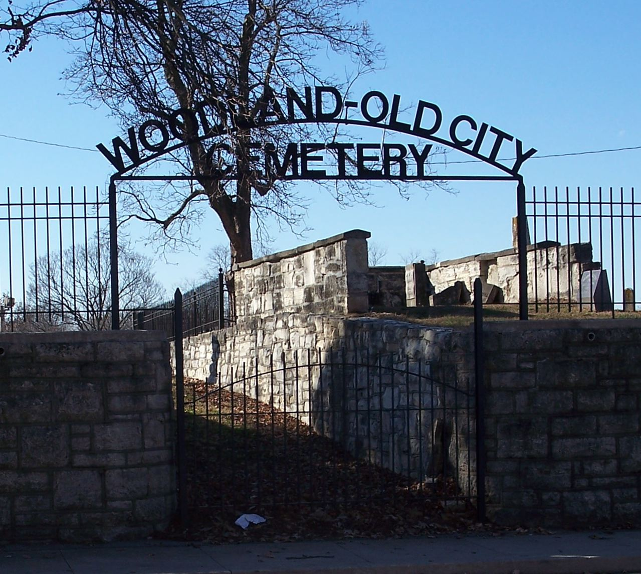 Woodland-Old City Cemetery