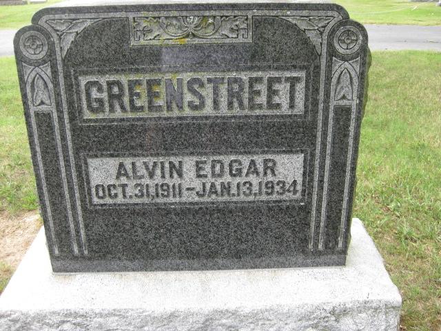 Alvin Edgar Greenstreet