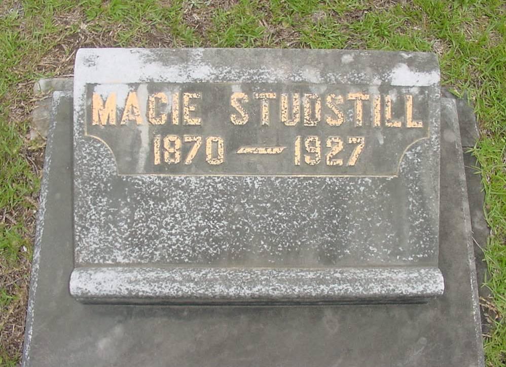 Macie <i>Underwood</i> Studstill
