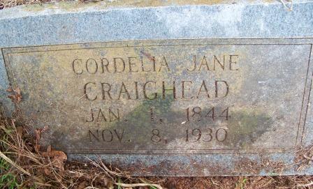 Cordelia Jane <i>Walker</i> Craighead