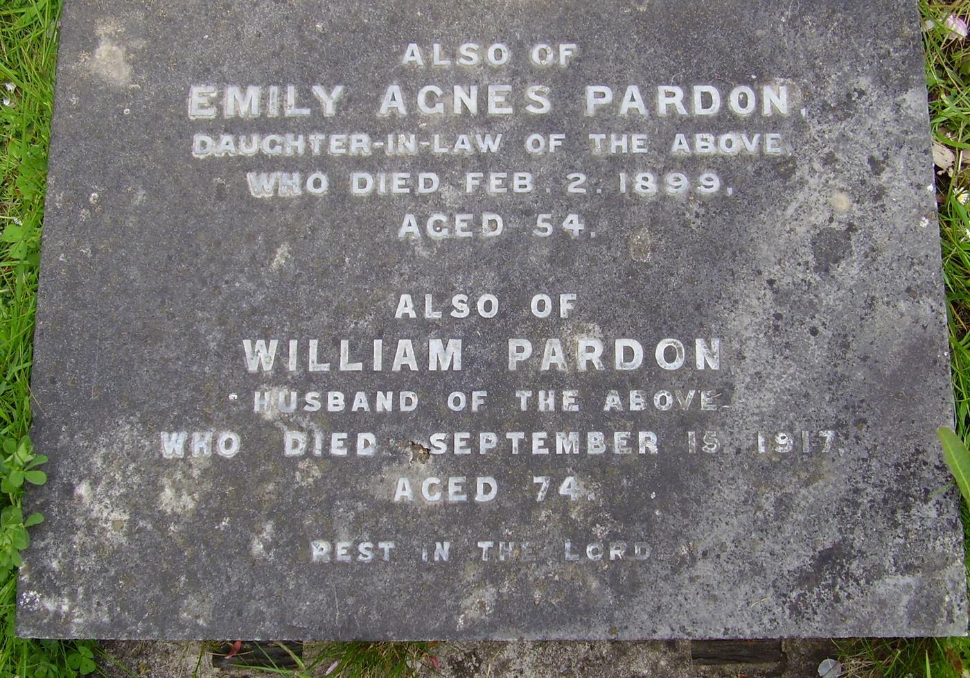 Emily Agnes <i>Wood</i> Pardon