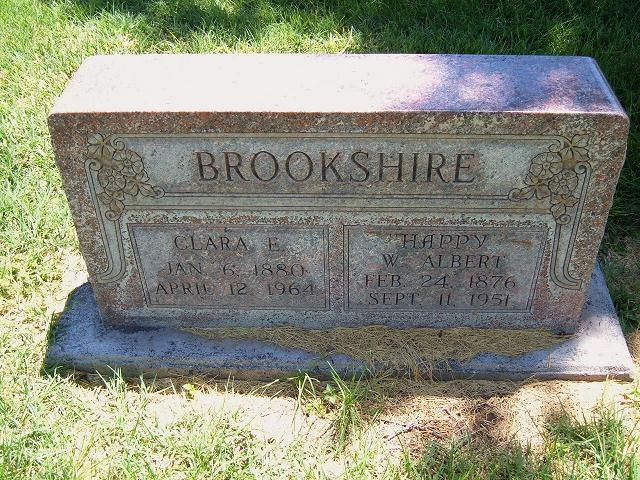 Clara Etta <i>Bauswell</i> Brookshire