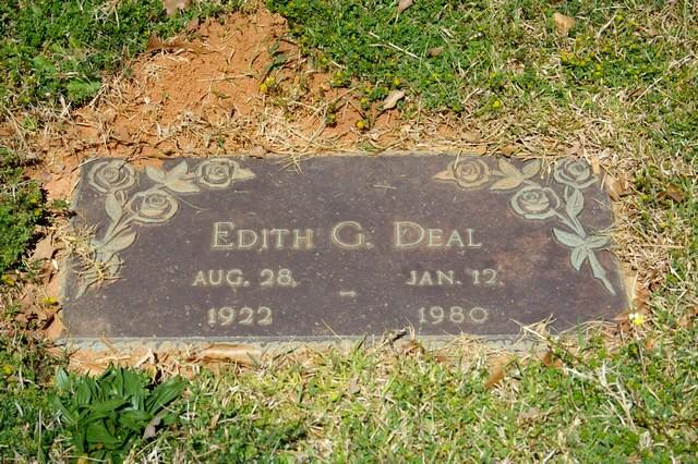 Edith <i>Gilbert</i> Deal