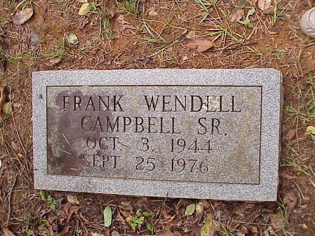 Frank Wendell Campbell, Sr