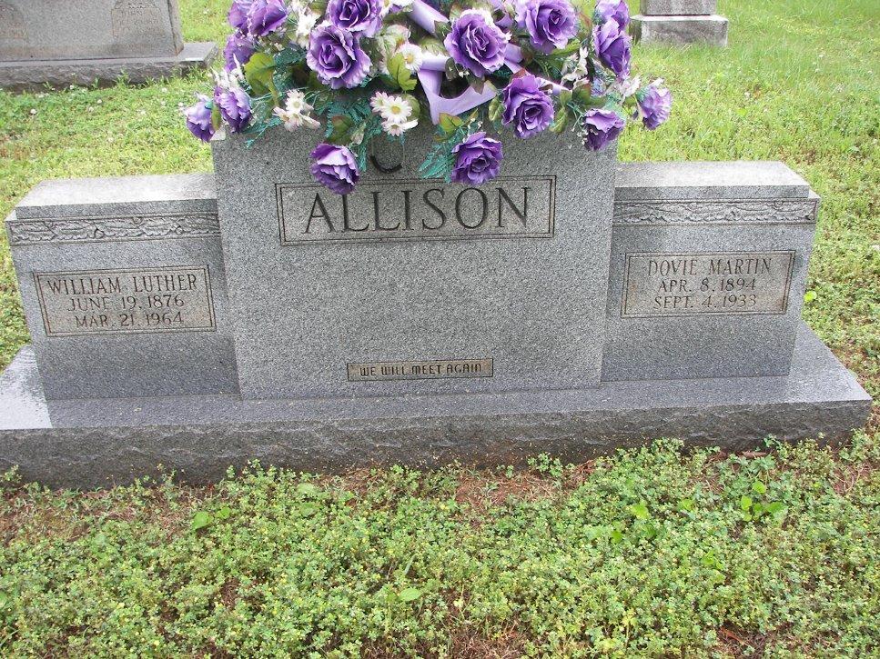 Dovie <i>Martin</i> Allison