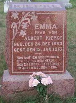 Emma <i>Koehler</i> Kiepke