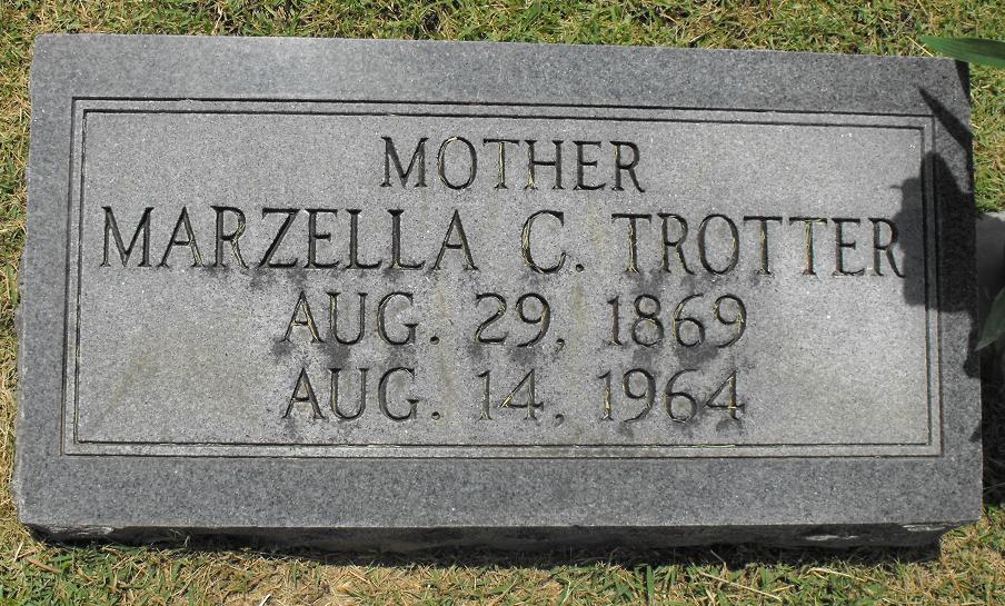 Marzella Catherine <i>Nichols</i> Trotter
