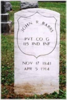 Pvt John R Babbs