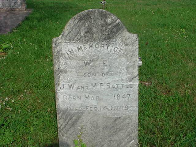 William Edgington W. E. Battle