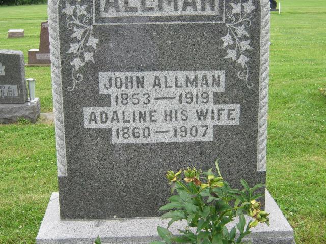 Adaline <i>Ritter</i> Allman
