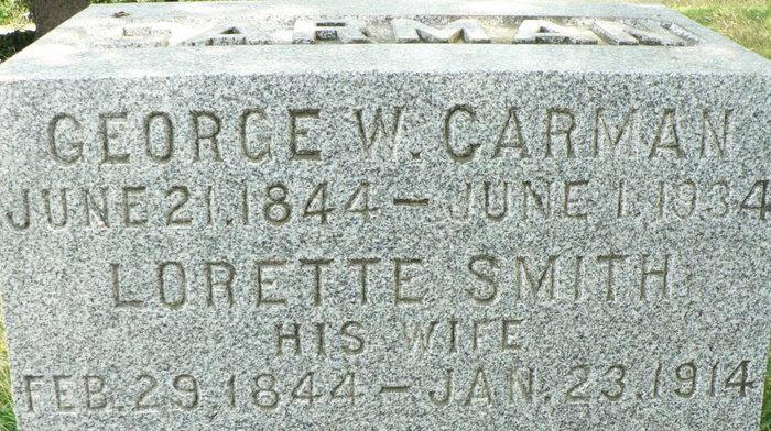 George Weyburn Carman