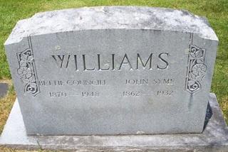 Bettie Folk <i>Councill</i> Williams