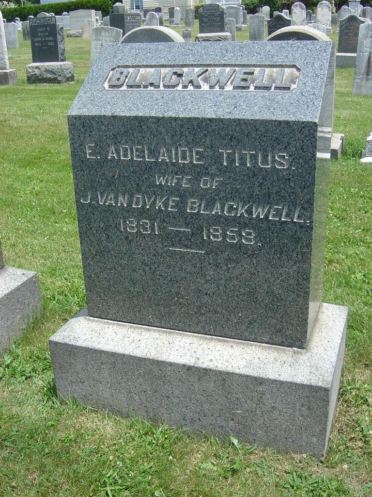 E Adelaide <i>Titus</i> Blackwell