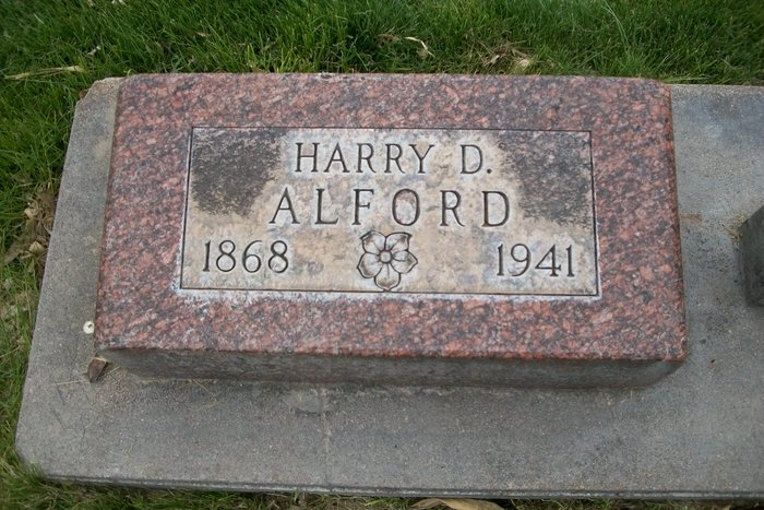 Harry Dwight Alford
