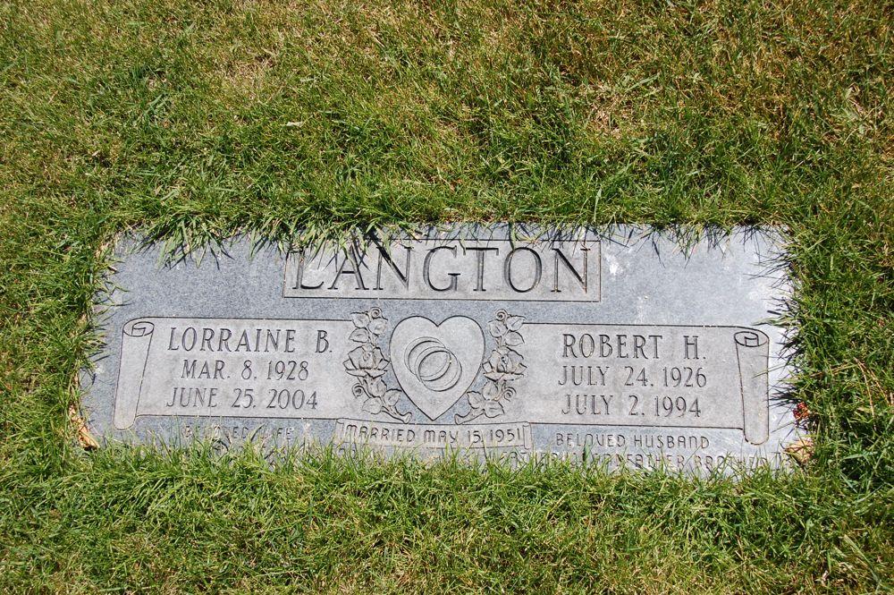 Robert Heber Langton