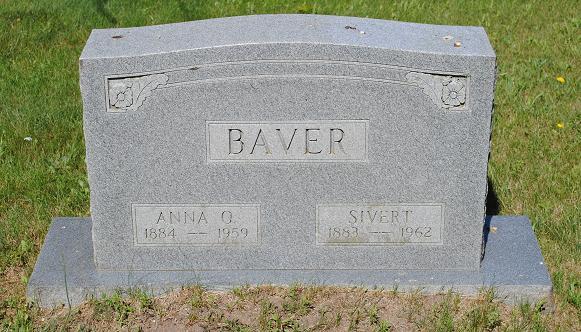 Anna O <i>Olsen</i> Baver